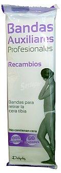 Deliplus Bandas auxiliares profesionales recambio (sin cera) Caja 50 u