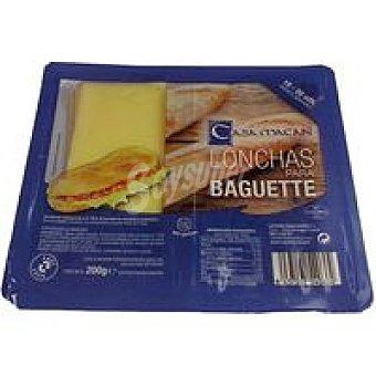 CASA MACAN Queso en lonchas Baguette 200g