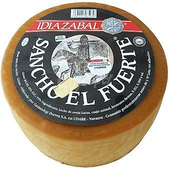 SANCHO EL FUERTE Queso Idiazábal D.O.  peso de la unidad 3 kg aproximadamente
