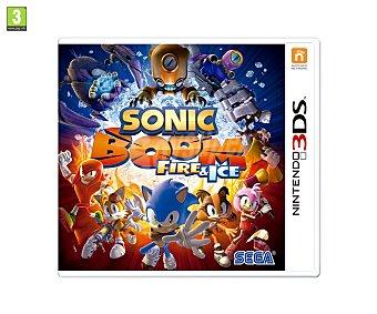 Plataformas Videojuego Sonic Boom: Fire & Ice para Nintendo 3Ds. Género: plataformas, acción. PEGI: +3 3Ds