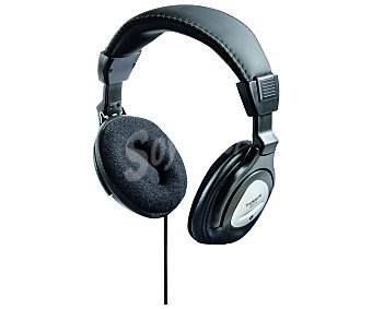 Thomson HED415N Auriculares tipo TV con cable, color negro