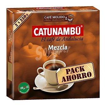 Catunambu Café molido mezcla Pack de 2 unidades de 250 g