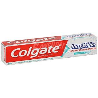 Colgate Max White Pasta dentífrica con micro cristales blancos Max white Tubo 75 ml
