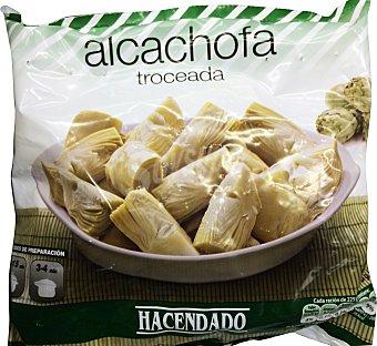 Hacendado Alcachofa cortada congelada Paquete 450 g