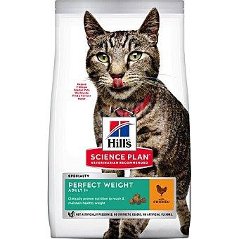 Hill's Science Plan Pienso para gatos adultos Hills Science Plan Perfect Weight Pollo 3 Kg