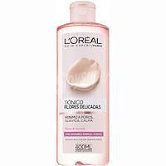 L'Oréal Tónico pieles sensibles Flowers l`oreal Bote 400 ml