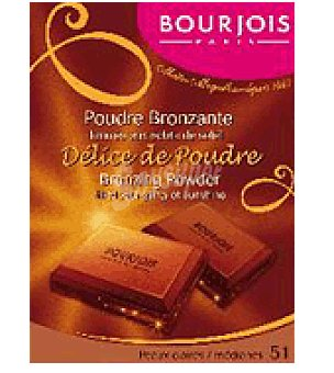 Bourjois Polvo rostro delice poudre nº51 peauclairmed 1 ud