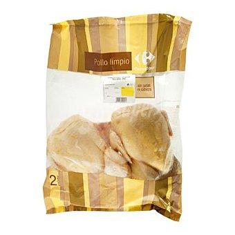 Carrefour Pollo entero limpio 3,2 kg aprox Bolsa de 3200.0 g. aprox