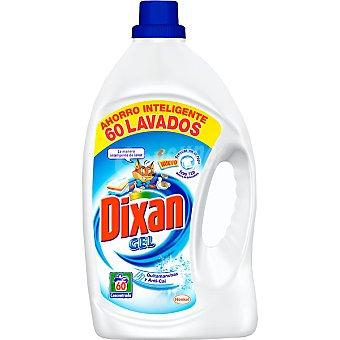 DIXAN detergente máquina líquido gel con quitamanchas + anti-cal botella 60 dosis