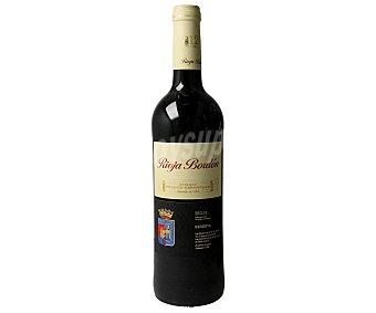Rioja Bordón Vino tinto reserva con denominación de origen Rioja Botella de 75 cl