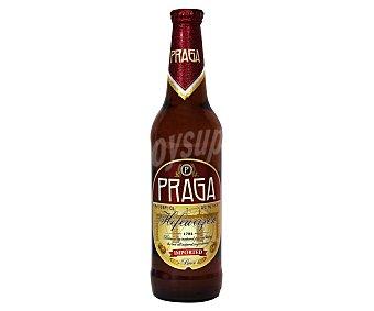 Praga Cerveza Checa de trigo Botella de 50 centilitros