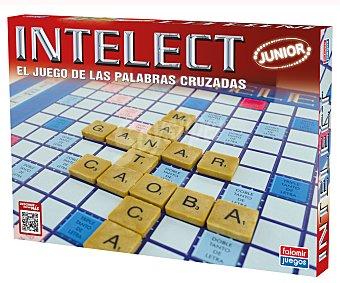 FALOMIR JUEGOS Juego de mesa de construcción de palabras infantil, Intelect Junior, más de 2 jugadores 1 unidad