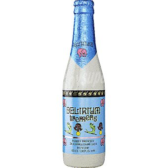 DELIRIUM TREMENS Cerveza rubia especial belga Botella 33 cl