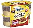 Mousse duo de chocolate con leche y chocolate blanco 4 unidades de 59 gramos La Lechera Nestlé