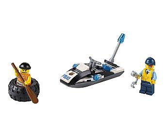 LEGO Juego de construcciones de 47 piezas Huída en el neumático, ref. 60126, incluye 2 figuras City 1 unidad