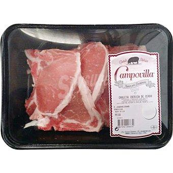 CAMPOVILLA Chuleta de lomo peso aproximado Bandeja 450 g
