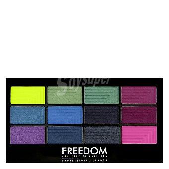 Paleta 12 sombra de ojos Chasing Rainbows Freedom 1 ud