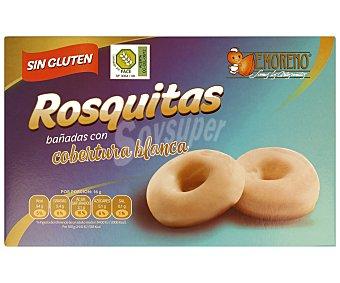 E.moreno Rosquitas con chocolate blanco, sin gluten,, 300 gramos