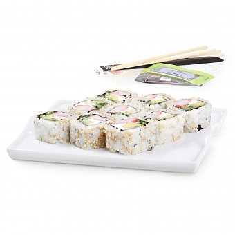 Cheese cali roll Sushi Daily 9 pzas 9 pzas