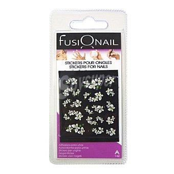 Fusionail Kit adhesivos fantasía para uñas 1 ud