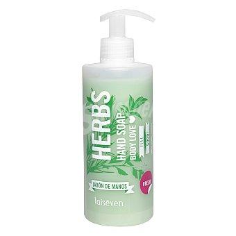 LAISEVEN Jabón líquido de manos de Hierbas aromáticas Bote 400 ml