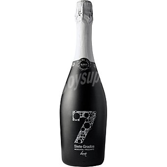 Luzon SIETE GRADOS vino blanco moscatel frizzante de Murcia  botella 75 cl