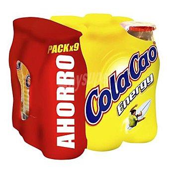 Cola Cao Batido energy Botella pack 9X200 ml