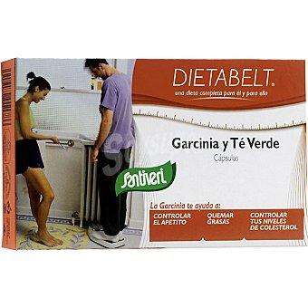 SANTIVERI DIETABELT Garcinia y té verde controla el apetito Envase 60 capsulas
