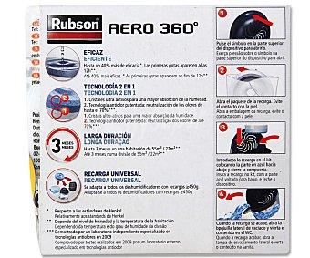 RUBSON Tableta Recambio de 450 Gramos para Deshumidifador Aéro360 1 Unidad