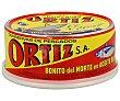 Bonito del norte en aceite de oliva 190 g escurrido - 250 g peso neto Conservas Ortiz