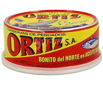 Conservas Ortiz Bonito del norte en aceite de oliva 190 g escurrido - 250 g peso neto