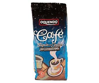 Oquendo Café de tueste natural descafeinado en grano 1 kilogramo