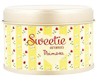 AMBIENT AIR Vela en lata perfumada con olor a Mimosa, Sweetie aromas 1 unidad