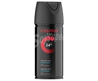 Cosmia Desodorante en spray para hombre con protección anti-transpirante de hasta 24 horas 150 ml