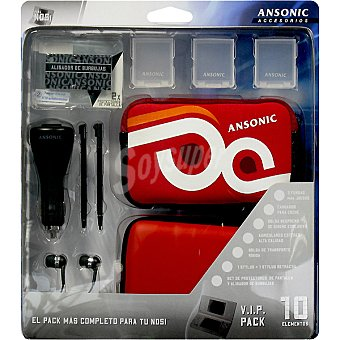 Ansonic Accesorios para NDS Pack 10
