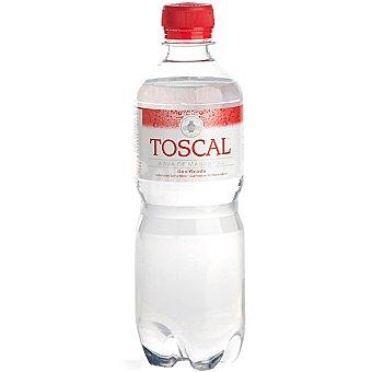 TOSCAL Agua mineral con gas Botella 50 cl