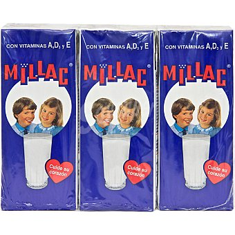 Millac leche especial con vitaminas pack 3 envase 200 ml