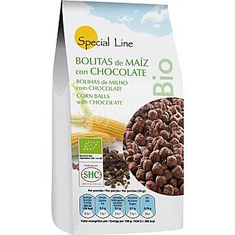 Special Line Bolitas de maíz con chocolate ecológicas Envase 200 g