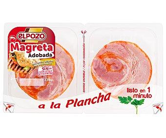 ElPozo Magreta de cerdo adobada, cortada en lonchas 330 g