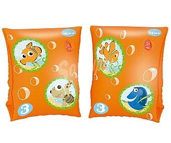 BESTWAY Manguitos hinchables infantiles de Nemo de 23x15 centimetros y recomendados para niños de 3 a 6 años 1 unidad