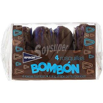 HIPERCOR Bombón Roscas 4 unidades caja 220 g 4 unidades