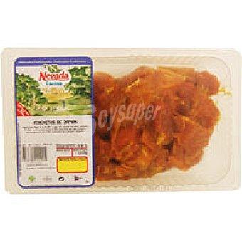 FACCSA Pinchitos de jamón al vacío Bandeja 400 g