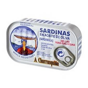 Churrusquiña Sardinilla en aceite de oliva Lata 125 g