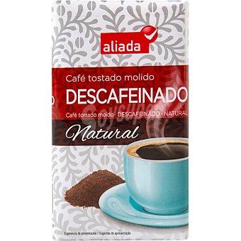 Aliada Café natural descafeinado molido Paquete 250 g