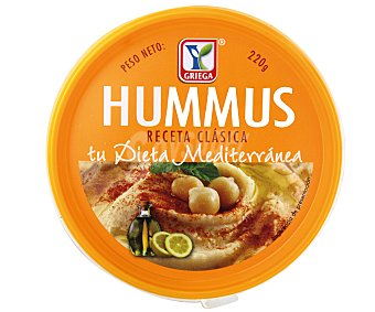 YGRIEGA Salsa hummus 220 g