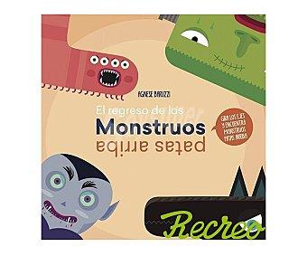 Vicens El regreso de los monstruos patas arriba, agnese baruzzi. Género: infantil. Editorial Vicens Vives