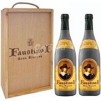 FAUSTINO I Vino Tinto Gran Reserva Rioja pack 2x75 cl