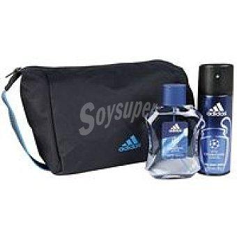 ADIDAS Uefa Estuche Colonia-Desodorante-Neceser Pack 1 unid