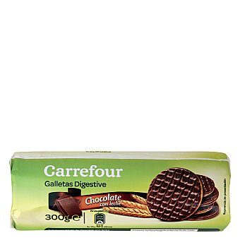Carrefour Galletas con chocolate digestive 300 g