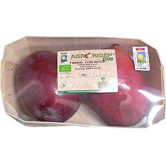 Agrorigen Mangos ecológicos peso aproximado Bandeja 700 g